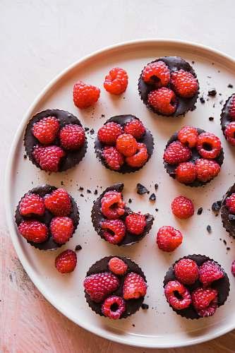 fruit red raspberry cookies raspberry