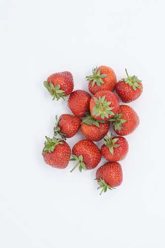 fruit red strawberries wallpaper plant