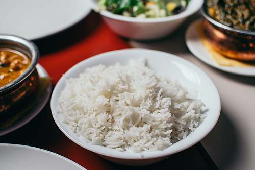 rice rice in bowl bowl