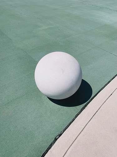 sphere round white ball egg