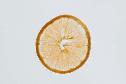 orange round yellow fruit fruit