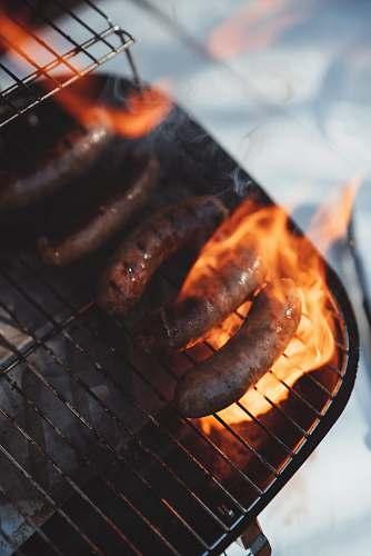 animal sausage grills lobster