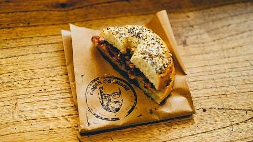 sandwich slice of burger breakfast