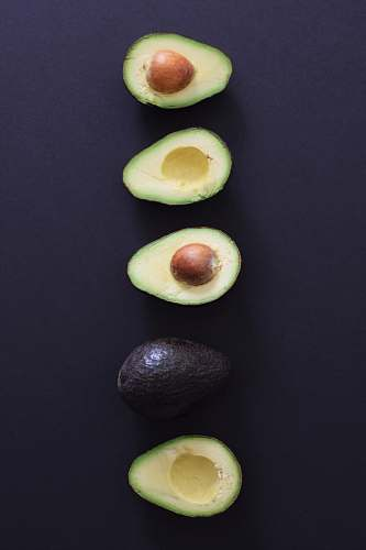 plant sliced avocado fruits fruit