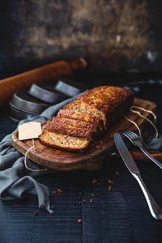 bread sliced bread on board human