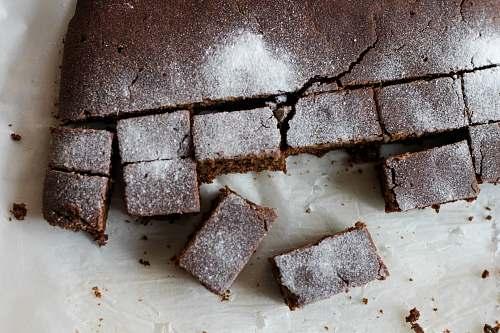 dessert sliced cakes chocolate