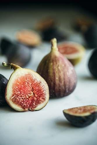 plant sliced fruit on table fruit