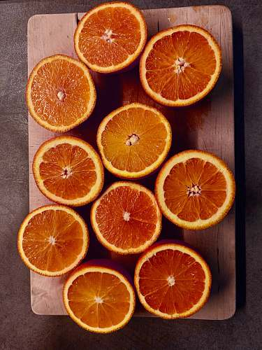citrus fruit sliced fruits ] fruit