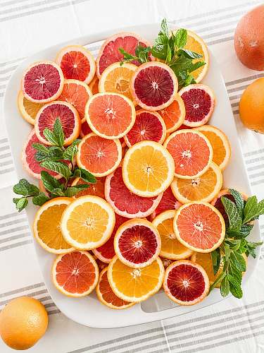 photo fruit sliced grapefruits citrus fruit free for commercial use images
