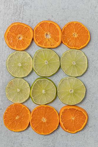 fruit sliced lemons plant