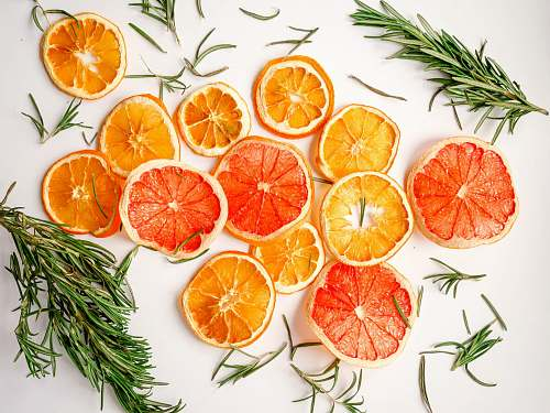 plant sliced orange fruits citrus fruit