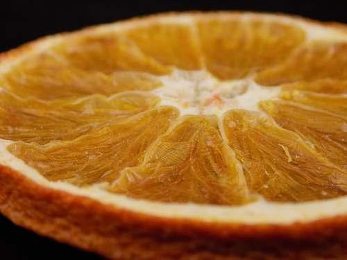 plant sliced orange citrus fruit