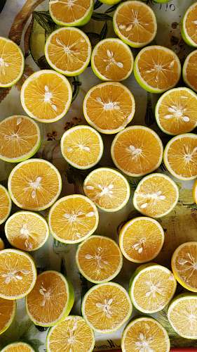 citrus fruit sliced yellow lime fruits plant