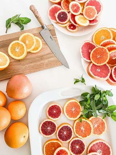 fruit slices of grapefruits citrus fruit