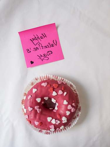 pastry strawberry doughnut dessert