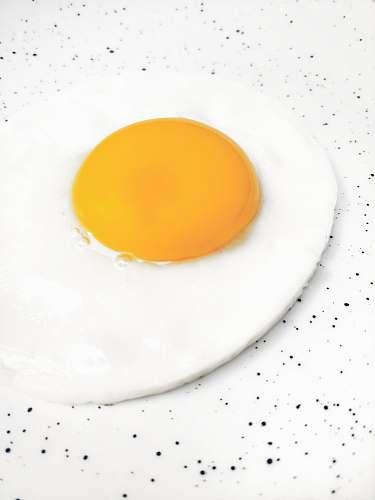 egg sunny side-up egg illustration yellow