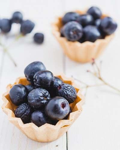 fruit two blueberry tarts blueberry