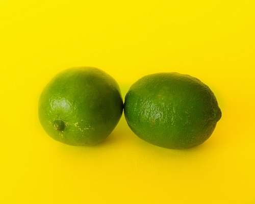 fruit two lime fruits plant