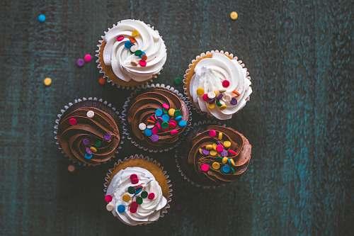 cream variety of cupcakes cupcake