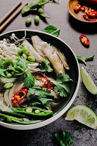salad vegetables on cook pot stir fry