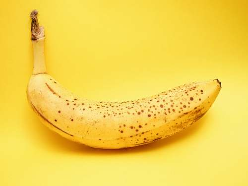 fruit yellow banana banana