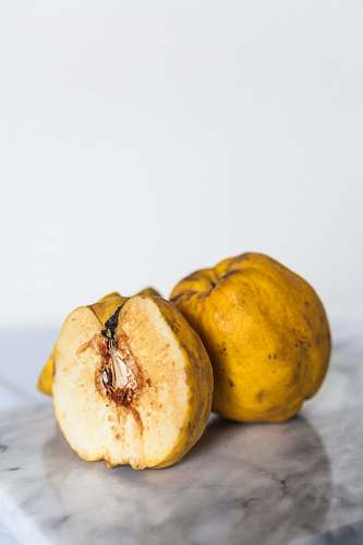 fruit yellow fruit quince