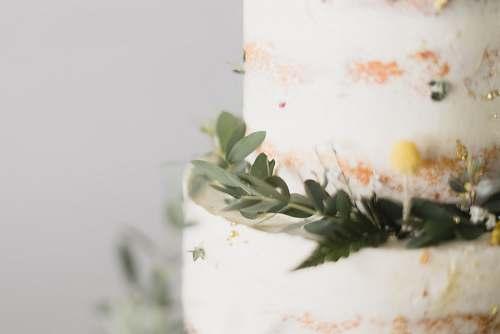 dessert yellow petaled flower cake
