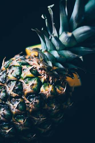 fruit yellow pineapple pineapple