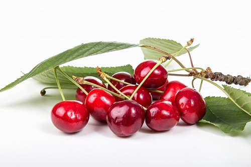 food red cherries cherry