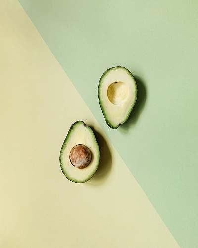food sliced avocado fruit plant