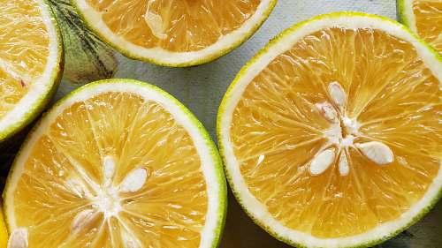 food sliced yellow lemon fruits citrus fruit