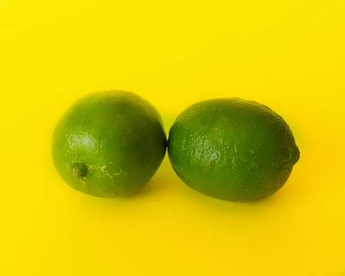 food two green limes lime