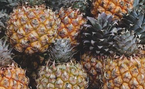 food Pineapple fruits fruit