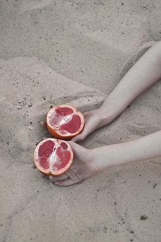 food sliced grapefruit grapefruit