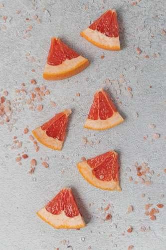 fruit sliced grapefruits grapefruit