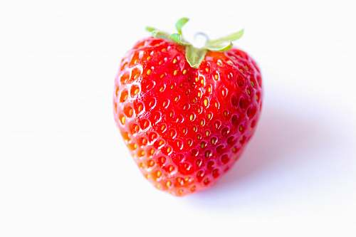 plant red strawberry food