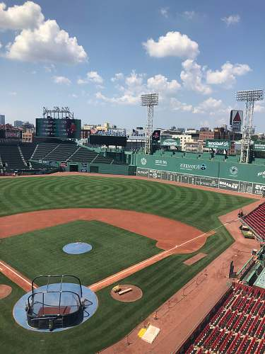 stadium baseball field fenway park