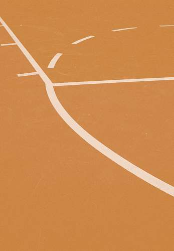 montreal orange and white basketball court lines canada