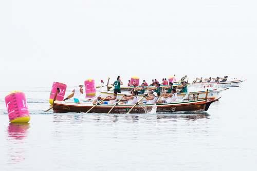 transportation dragon boat on water vessel