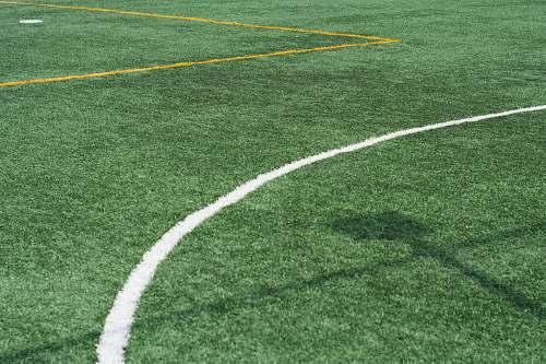 green green grass field football