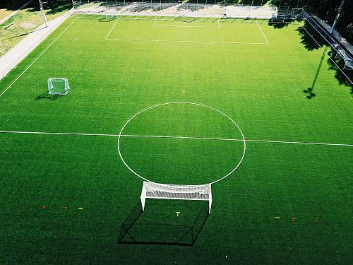 furniture landscape photography of soccer field chair