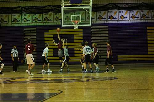 person people playing basketball people