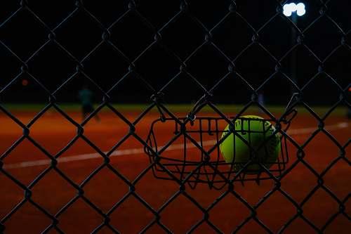 human green tennis ball sports