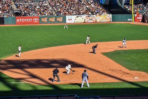 baseball men playing baseball sports