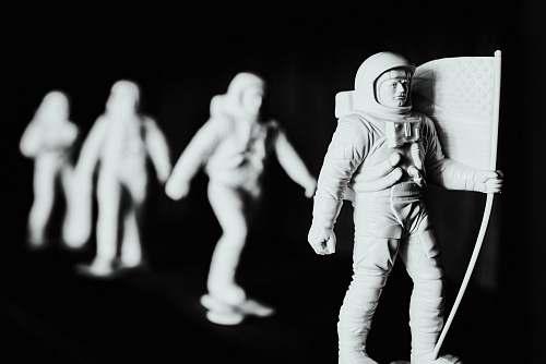 human astronaut action figures people
