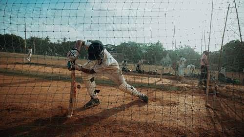 human photography of baseball game people
