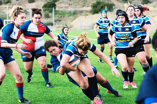 people women's rugby uniforms team