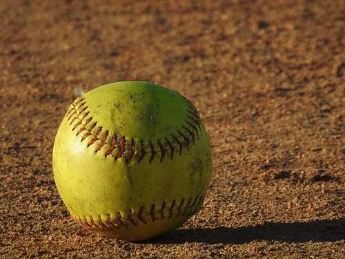 apparel green baseball on floor ball