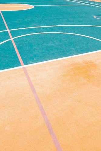 sports basketball court tennis court