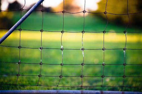 fence chain link fence sports